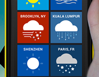 The Weather Channel on Windows 8