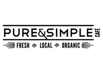 Pure & Simple Café: Branding