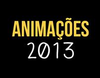 Animações 2013
