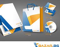 Logo design for Bazar.bg
