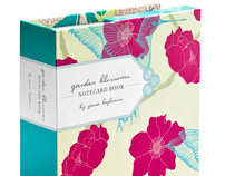 "Chronicle Books ""Garden Blossoms"" Stationery"