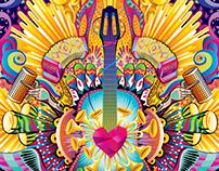 McDonald's XIII Latin Grammy Illustration