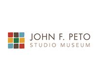 John F. Peto Studio Museum Branding + Collateral