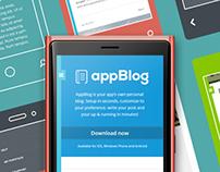 AppBlog Tumblr Theme (Free)
