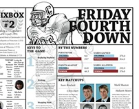 Columbia Daily Spectator -- Sports Section Redesign