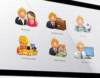 Mešetar.com Icons