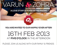 Email Wedding Invitation