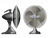 Casablanca Moderne table fan