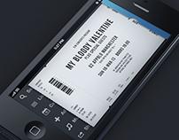 Mobile Ticket App