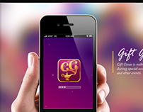 Gift Genie App Icon and Character Illustration