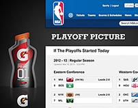 NBA.com Site Design