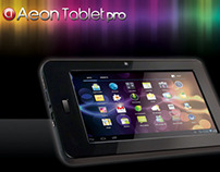 Aeon Tablet Package design