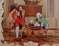 Tsar Peter and tsarevitch Alexey