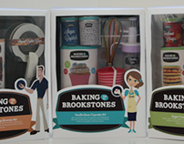 Baking with the Brookstones - Branding + Packaging