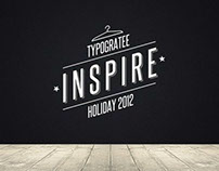 Typogratee Clothing: Inspire Collection