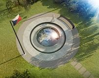 Czechoslovak RAF pilots memorial / Památník letcům