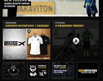Botafogo F.R Concept website