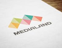 medialand | logo