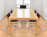 Conference table for albo/albo office