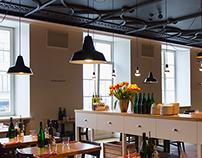 """""""Kitchen"""" restaurant- food & interior"""