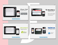 Mobile Apps Landing Page