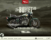 Royal Enfield Bullet500 Launch Site