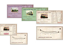 Vintage Design - Train Tickets