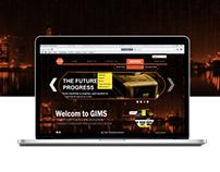 GIMS Web interface
