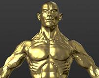 Anatomy study - Sculptris