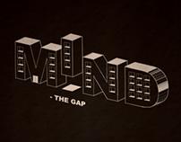 Typographic architecual exhibition poster