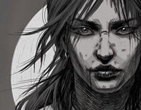 Lara Croft Art Contest Submissions w/ Concept Sketches