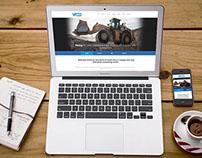 VR Laser Website Design. Responsive web design