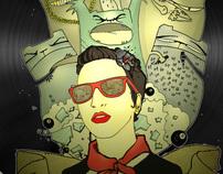 """VINYLS  exhibition  """" RECORD THE STREET"""""""