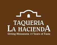 Taqueria Hacienda Rebrand