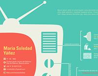 CV Design: Maria Soledad Yañez