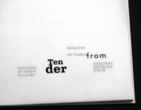 Selection Of Poems : Tender Buttons by Getrude Stein