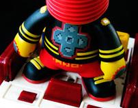 Spark plug toy