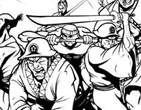 Random Illustrations and Comic Book Art