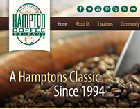 Hampton Coffee Company Website Development