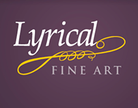 Lyrical Fine Art Website Development