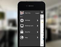 Blackarrow - iOS app