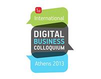 International Digital Business Colloquium : Logo Design