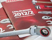Catálogo e Lista de Preços Robust 2012