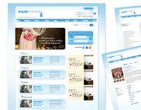 Website design, Mazelmoments