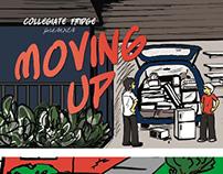 Collegiate Marketing Brochure Illustrations