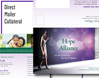 The Hope Alliance (Direct Mailer Collateral)
