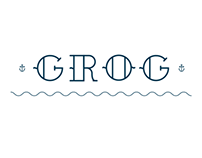 Grog typeface