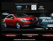 Noller Mazda Web Banners