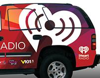 iHeartRadio Vehicle Wrap