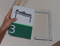 Sinalização Centro de Parto Normal Hosp. de Alvorada
